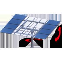 太阳能追踪器原材料