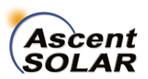 Ascent Solar Technologies Inc.