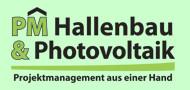 Projekt Management Hallenbau und Photovoltaik GmbH