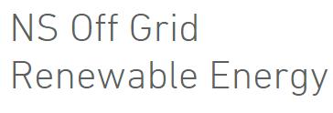 NS Off Grid Renewable Energy