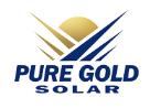 Pure Gold Solar