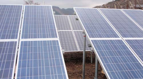 Xiamen Huge Energy Ground Mount Japan Closeup