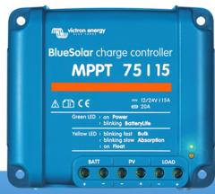 BlueSolar MPPT 75/10, 75/15, 100/15, 100/20 & 100/20-48V