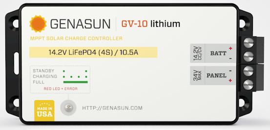 GV-10   140W 10.5A -Lithium
