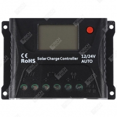 RICH SOLAR 10 Amp PWM Solar Charge Controller Positive Ground