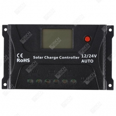 RICH SOLAR 20 Amp PWM Solar Charge Controller Positive Ground