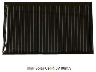 4.5V 80mA Epoxy solar panel
