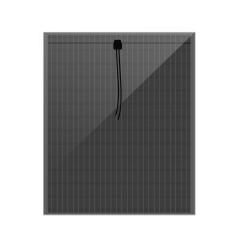 Thin film a-Si solar panel, NON TRANSPARENT  3 LAYERS SOLAR GLASS