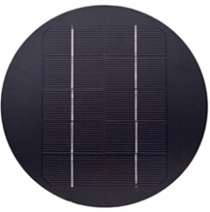 5V 3.7W round solar panel for lighting 3.7