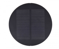 Round 1W 8V Solar Panel 1