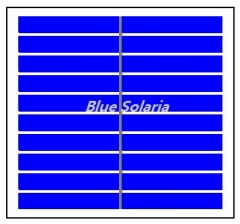 5 Volt 150mA 0.75 Watt Polycrystalline PV Panel, PET Laminated Solar Module 0.75