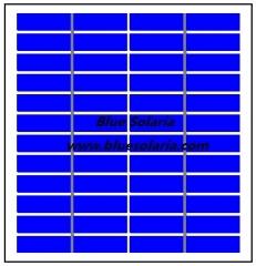 12V 2.5W Photovoltaic Module 2.4