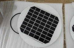 12V 5.5W circular solar panel module for lighting 5.5