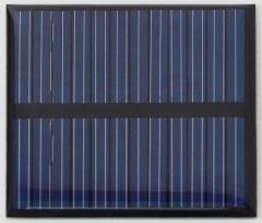 0.36W 6V 60mA Thin Solar Cell 0.36