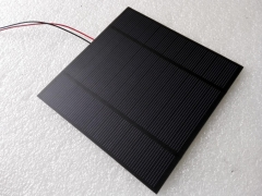 3.5W 6V PET mono solar panel 3.5