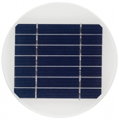 Diameter 150mm 3.5V circular round solar panel 1.6