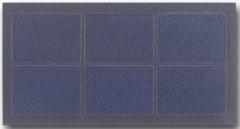 3V 75mA 0.225W mini cell solar 0.225
