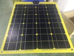 95W 18V yellow flexible solar panel