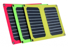 Sunpower solar panel charger + PET laminated 12