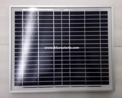 11 Watts 18 V AL-framed solar panel 11