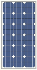 82Watts 18Vots mono solar panel 82