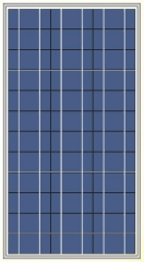 80W 18V poly-crystalline solar module 80