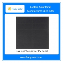 1W 5.5V Sunpower PV Panel
