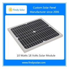 10 Watts 18 Volts Solar Module