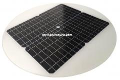 Panneau solaire circulaire 21W 18V 21
