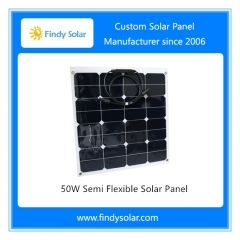 50W Semi Flexible Solar Panel