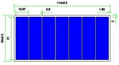 Module photovoltaïque 3.5V 300mA 1