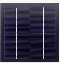 8V solar panel, 1.7 watts