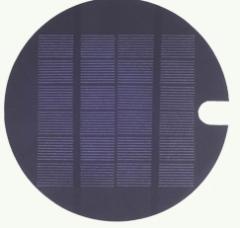 Round solar panel, 6v,  300mA 1.8W
