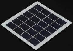 6v solar panel, 2 watts pv panel