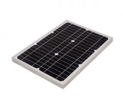 15W 18V standard solar panel
