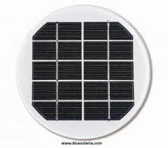 Solarmodul in runder Form 5volt 1.5