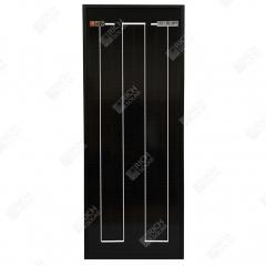 RICH SOLAR 10 Watt 12 Volt Monocrystalline All Black Solar Panel