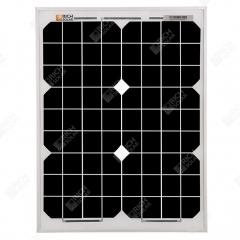 RICH SOLAR 20 Watt 12 Volt Monocrystalline Solar Panel
