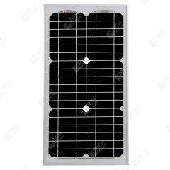 RICH SOLAR 30 Watt 12 Volt Monocrystalline Solar Panel