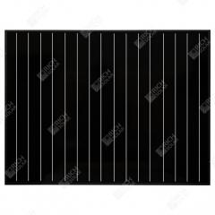 RICH SOLAR 50 Watt 12 Volt Monocrystalline All Black Solar Panel