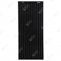 RICH SOLAR 100 Watt 12 Volt Monocrystalline Solar Panel All Black