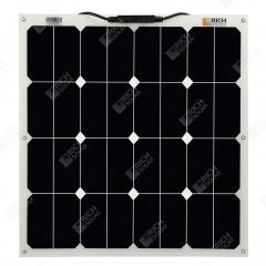 RICH SOLAR 50 Watt 12 Volt Flexible Solar Panel Powered By SUNPOWER
