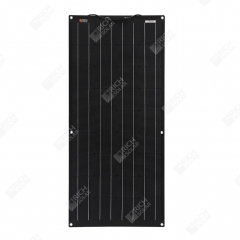 RICH SOLAR 100 Watt 12 Volt ETFE Flexible Monocrystalline Solar Panel All Black