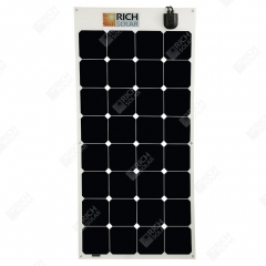 RICH SOLAR 100 Watt 12 Volt Flexible Monocrytalline Solar Panel Powered By SUNPOWER