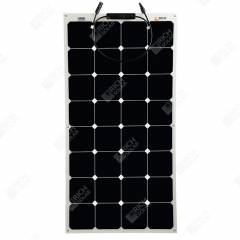 RICH SOLAR 100 Watt 12 Volt Flexible Solar Panel Powered by SUNPOWER