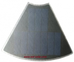 0.65W ETFE Lightweight Solar Panel