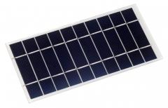 5V solar panel in low-light use