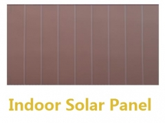 0.0017W amorphous solar panel-thin film