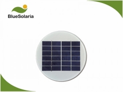 6V 1.4W Round Solar Panel for solar LED lighting 1.4