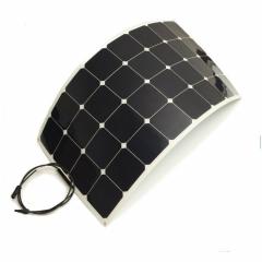 solar manufacturer produce 1050*550*3mm 100W  semi flexible solar panel